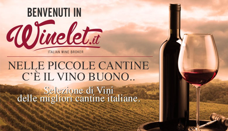 Welcome on Winelet.it